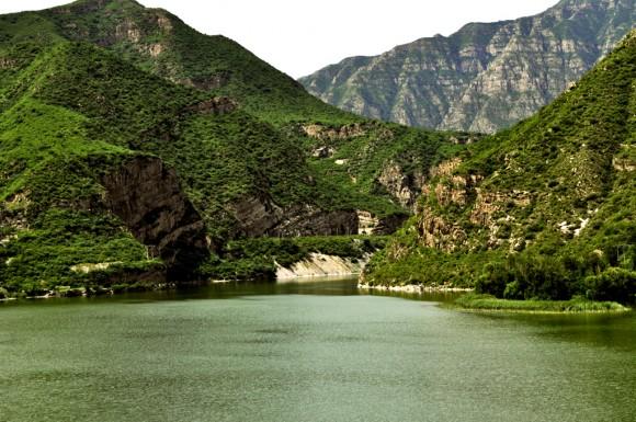 Góry w pobliżu Pekin - od strony zachodniej