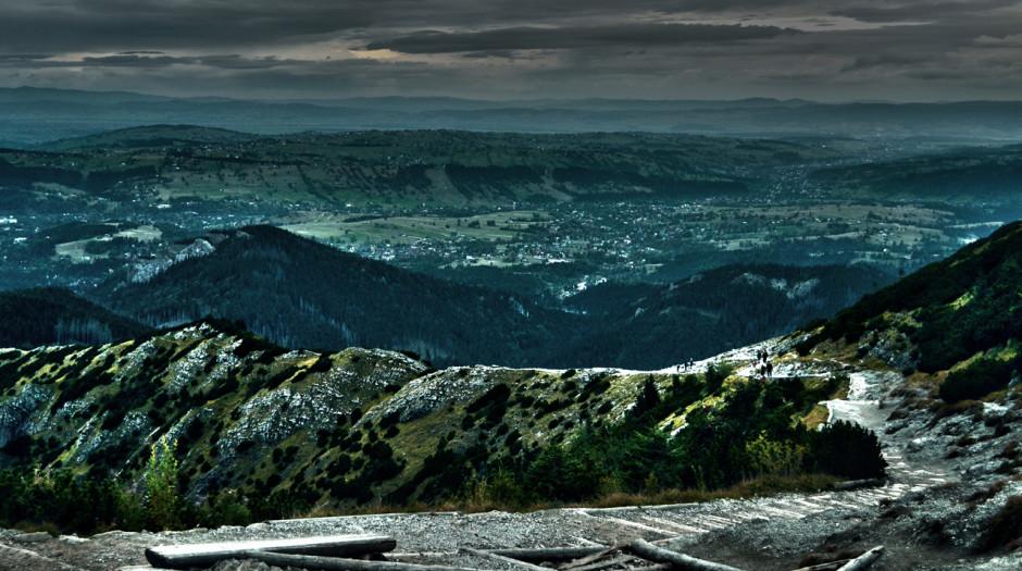 Zejście z Kasprowego - Przełęcz Między Kopami