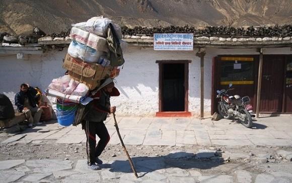 Noszenie bagażu level master.